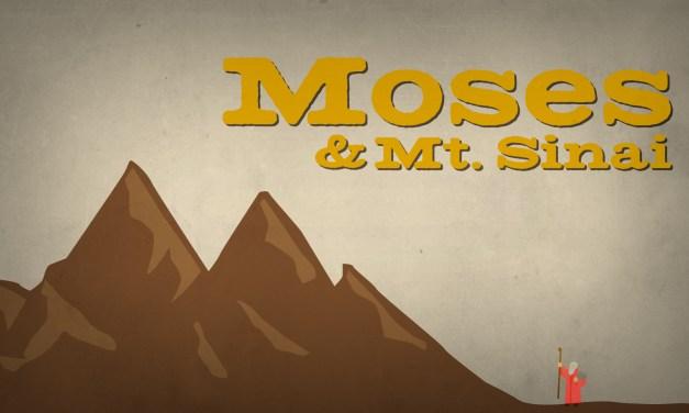 Moses and Mt. Sinai