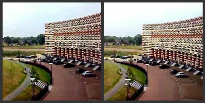 Apartemen Tampak dari Samping