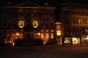 suasana Cityhall s'-Hertogenbosch  malam hari
