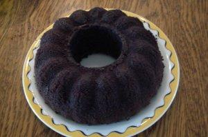 Sempat juga bikin Cake Ketan Hitam di Belanda