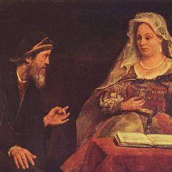 Ester dan Mordekhai, oleh Aert de Gelder