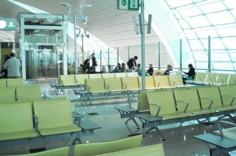 Waiting room Dubai Airport