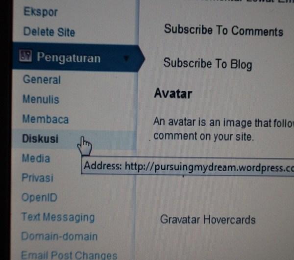 Menutup Kolom Komentar Blog WordPress