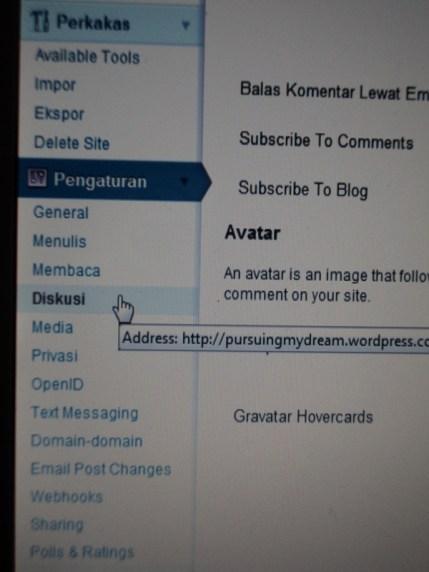 Menutup Komentar di Wordpress