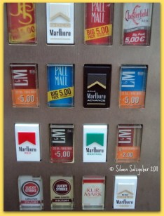 , Cigarette Vending Machine in Germany