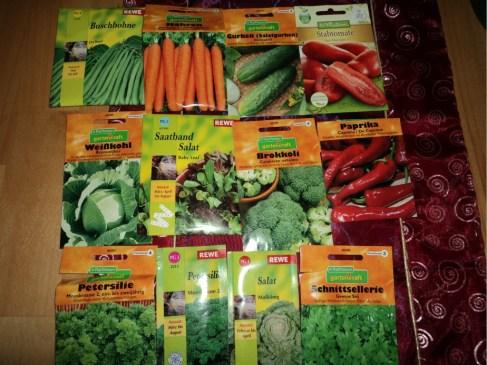 Dipilih-pilih Bibit Sayuran