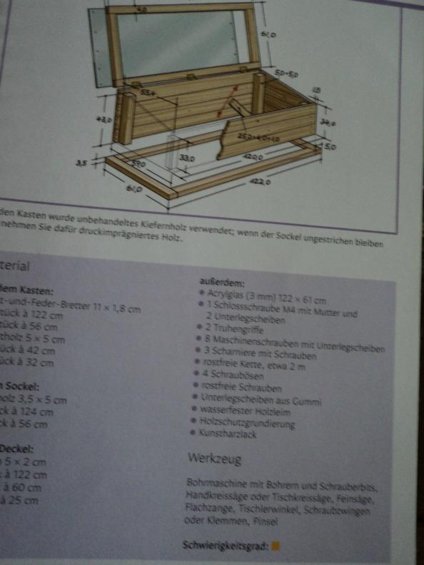 Cara Membuat Wadah tanaman (greenhouse mini), ada tanda kuning berarti Tingkat kesulitannya Menengah
