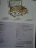 Cara Membuat Greenhouse mini, ada tanda kuning berarti Tingkat kesulitannya Menengah