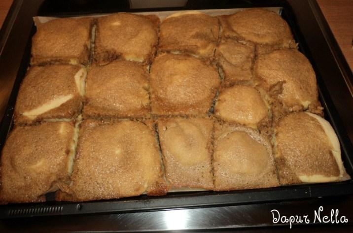 Roti Boy SegiEmpat (Pembuatan Kedua Kali)