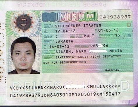 Horeee Visa Orangtua dan Adikku disetujui