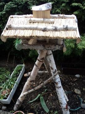 Rumah Burung di Taman Kecil Kami