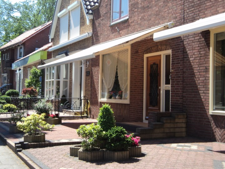 Model rumah di Volendam Belanda