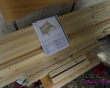 Sketsa Rak Bunga berikut kayu-kayu yang sudah dipotong