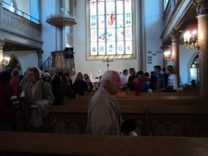 Bubaran Gereja (Foto: dok. pribadi)