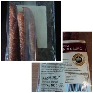Kaminwurzerl, sosis untuk temannya roti tawar dan jenis roti lainnya