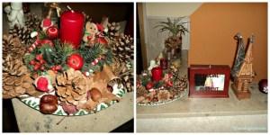 Christmas Ornaments. Foto kiri kreasi sendiri, Pajang di dekat Tangga Masuk