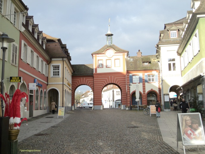 Gerbang Masuk Pusat Kota Emmendingen. Wisata Singkat di Emmendingen