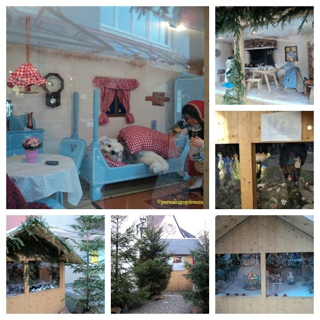 Pasar Natal di Bongkar hari itu, masih bisa lihat Miniatur Boneka di Emmendingen. Beberapa Kisah, ada Kisah Cinderela, 3 Orang Majus, Kereta Api dll