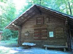 Bangunan didalam Hutan Vulpius. Bad Rappenau. Jerman
