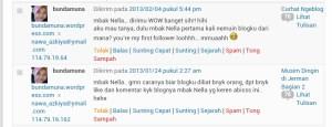 Screenshot Bunda Mun tanya Bagaimana Blog biar Rame