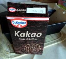 Bubuk Coklat Dr. Oatker wangi banget