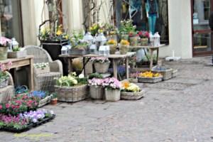 Contoh Toko Bunga di Jerman