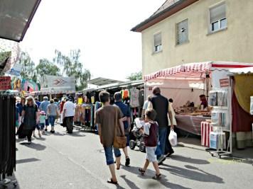 Dari tahun ke tahun sama saja suasanannya Talmarkt Bad Wimpfen