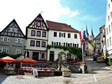 Pemandangan Kota Tua di Jerman