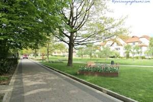 Taman Kota di Bad Rappenau, Jerman