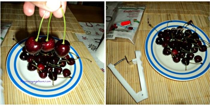Kalau sedang musimnya Buah Cherry banyak yang bikin selai atau buah kue. Bijinya dikeluarkan dengan alat khusus
