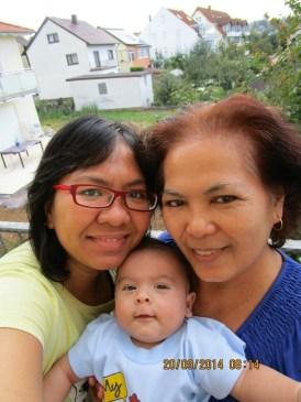 Selfi dulu ah. Senyum pasta gigi tiga generasi