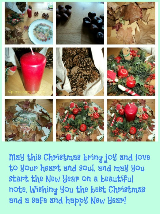 Merry Christmas, Selamat Natal 2014. Steps Do it Your Self Wreath (Weihnachtskranz)