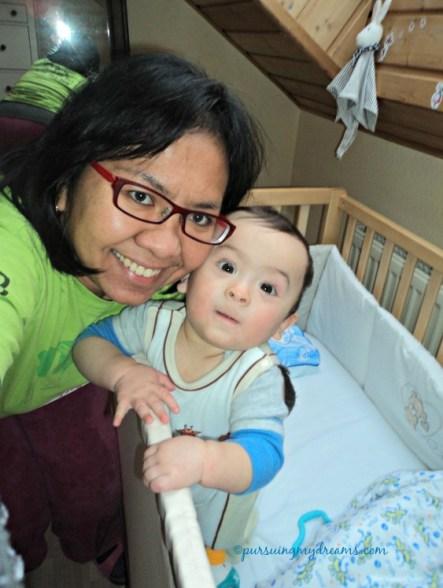 Benjamin jagoan mamak, abang kicik yang selalu ceriah. Ben sudah 7 bulan nih