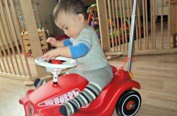 Kalau sudah besar mau jadi pembalap ya Ben