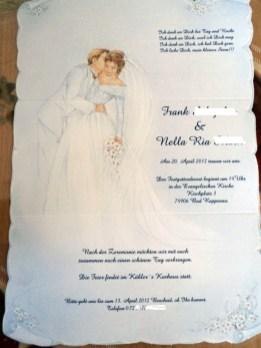 undangan pernikahan bahasa jerman