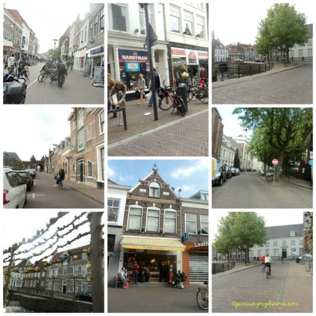 Amersfoort Belanda. Sebelum belanja ke toko asia kita jalan-jalan dulu melihat pusat kota. Cape jalan lalu makan es krim