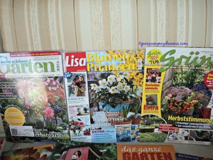 Majalah gardening di Jerman
