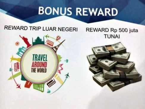 Bonus reward