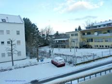 akhirnya salju datang juga