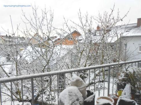 Snow On My Balcony