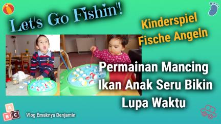 Permainan Mancing Ikan Anak Seru Bikin Lupa Waktu