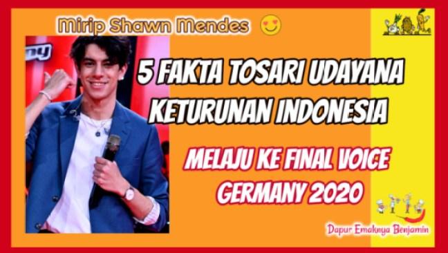 TOSARI UDAYANA Keturunan Indonesia Lolos ke FINAL Voice Jerman 2020