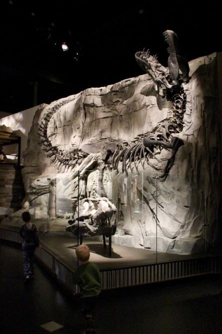 Drumheller, Alberta, Canada dinosaur museum