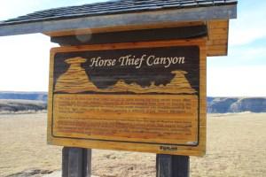 Horse Thief Canyon, Alberta, Canada