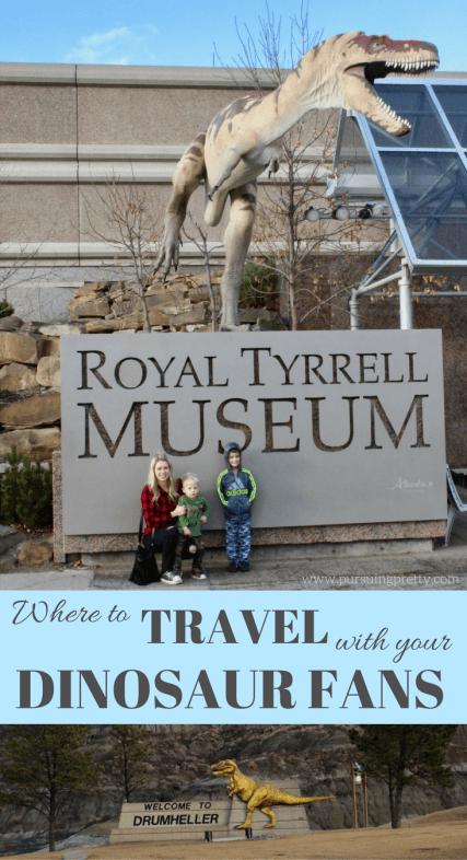 Royal Tyrrell Museum in Drumheller, Alberta / Dinosaur Museum