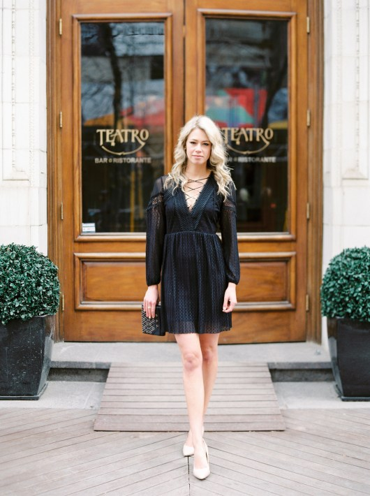 Cocktail Dress Attire with Topshop