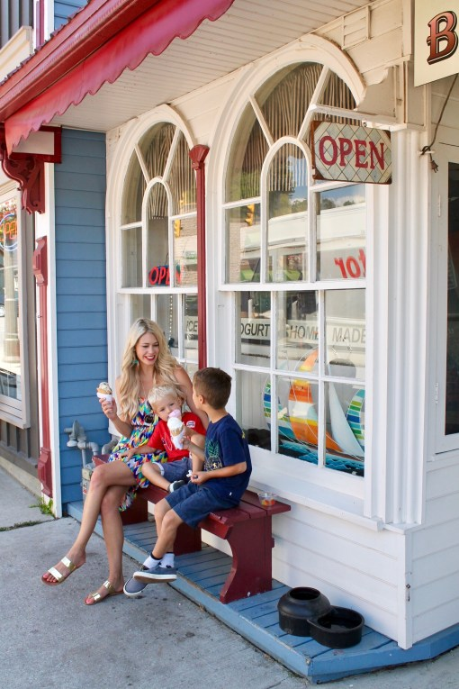 Broderick's Ice Cream - Family fun in Port Stanley, Ontario - travel ideas