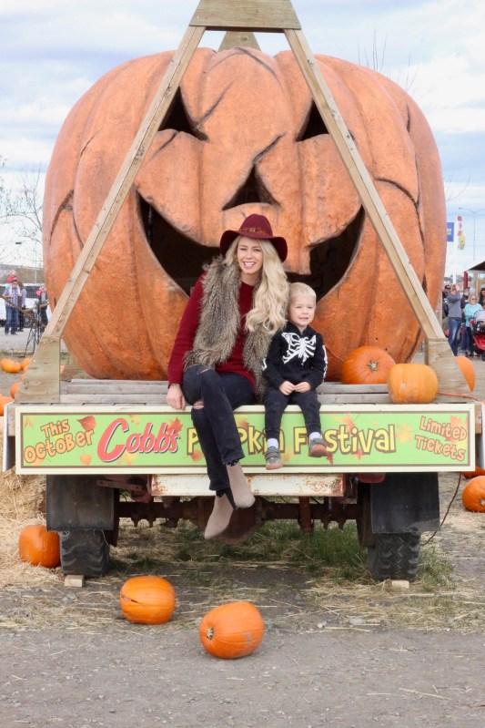 Calgary Pumpkin Patch - Corn Maze - Halloween fun for families