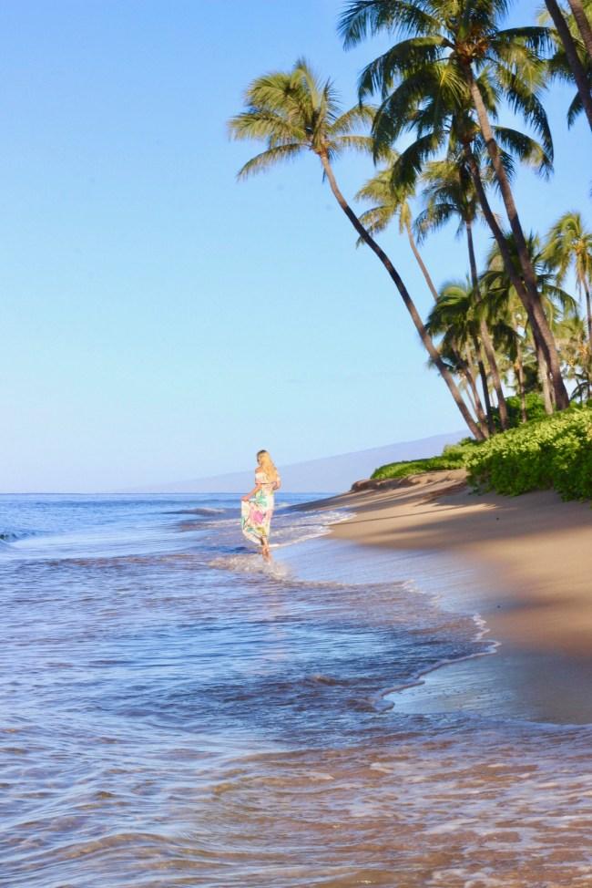 Ka'anapali Beach photos- best photos in Maui for Instagram