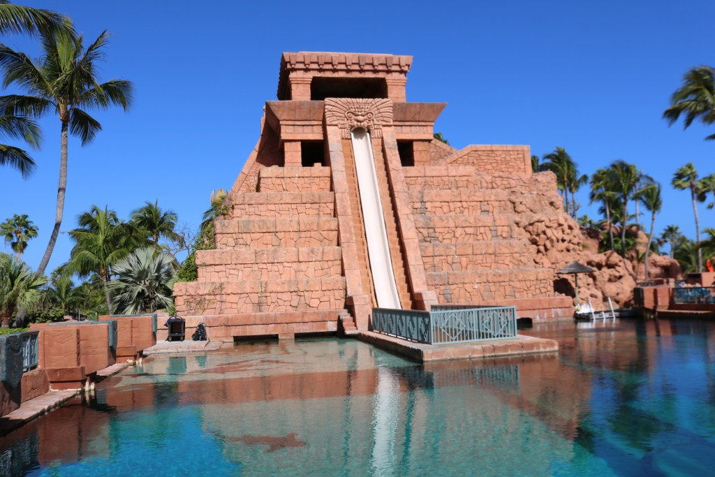 our Atlantis Travel Guide - 10 Tips for Travelling to Atlantis Bahamas with kids - shark waterslide